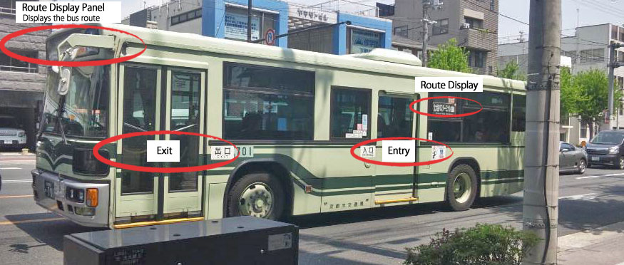 How to get bus in kyoto